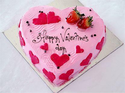 Chocolate Chip Strawberry Cream Cake